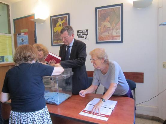 Francais e de haifa et du nord d israel elections legislatives et