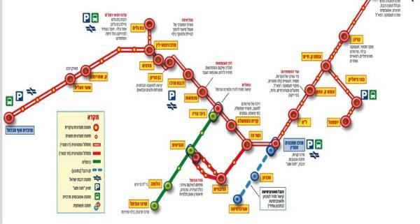 Haifa maps Cartes de Haifa