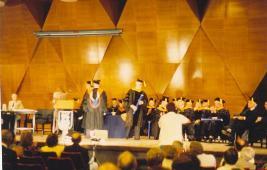 Ph D ceremony at Technion